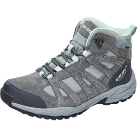 Hi-Tec Alto II Mid WP Shoes Women Steel Grey/Grey/Lichen